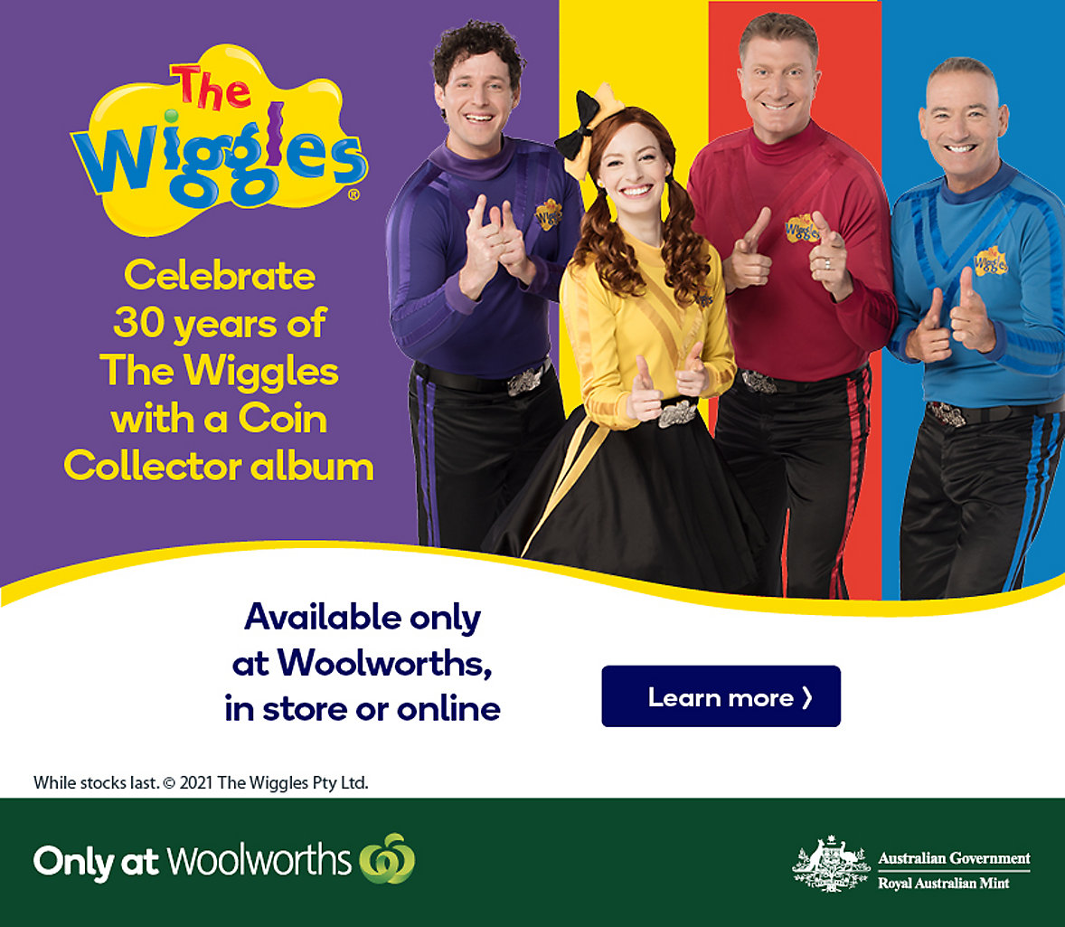 Celebrate with The Wiggles