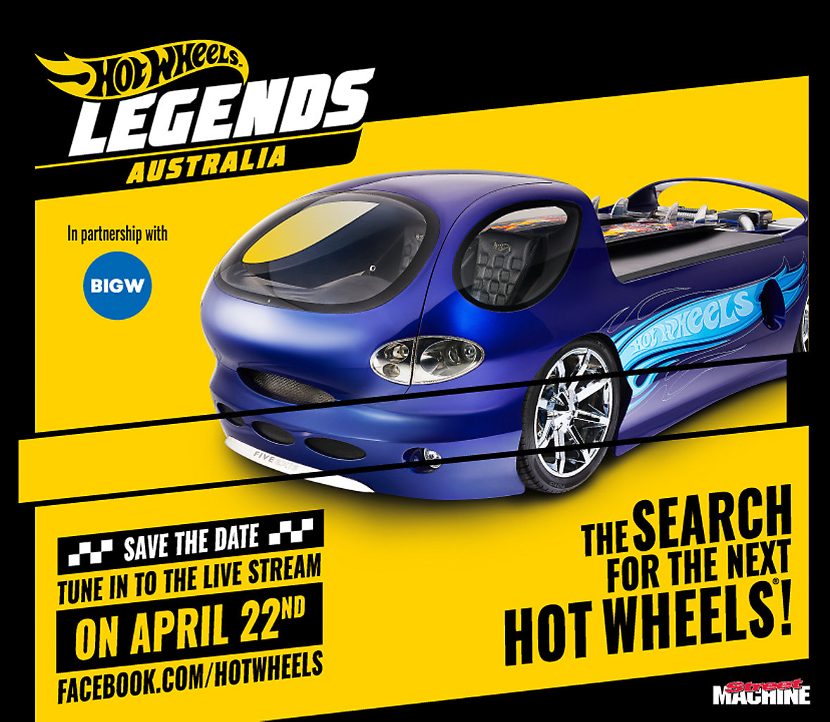 Hot Wheels Legends Save the Date