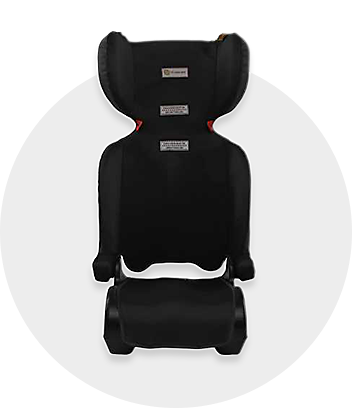 Baby Black Booster Seat