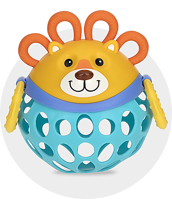 baby lion rattle