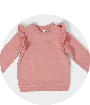 Baby Pink Frill Top