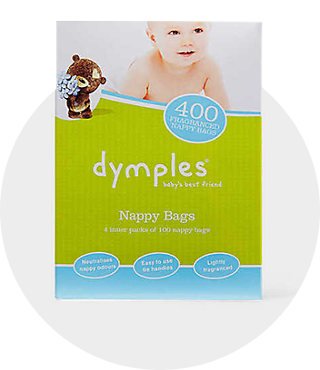 Dymples Nappy Bags 400 Pack