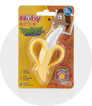 Nuby Nana Nubs Massaging Toothbrush