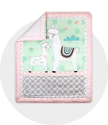 Llama Baby Quilt