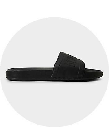 mens slides & sandals