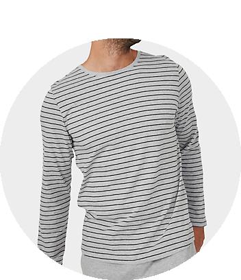 mens sleep shirts