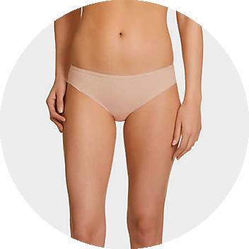 Nude Women's Bikini Briefs