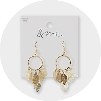 Women's Gold Drop Earrings