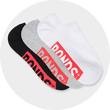 Women's Invisible Socks 3 Pack