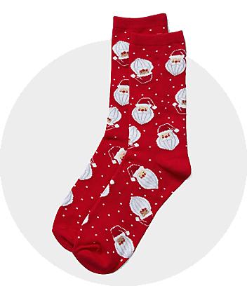 womens christmas socks