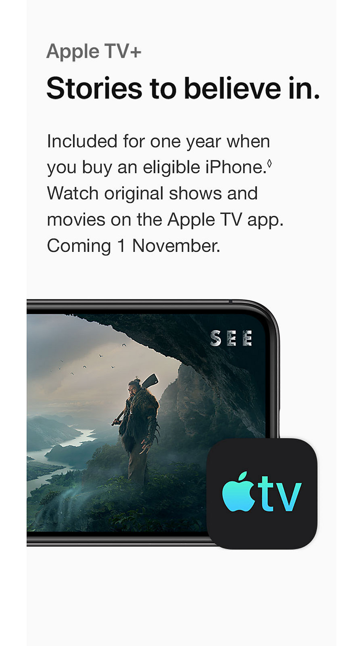 iPhone Apple TV+ Promotion