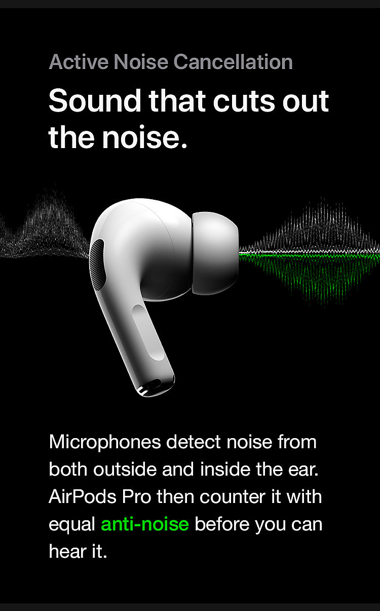 A sound that cuts out the noise