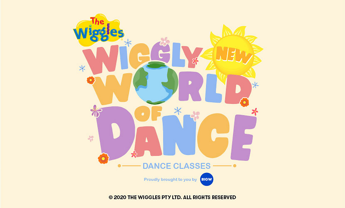 Big Days at Home Wiggly World of Dance