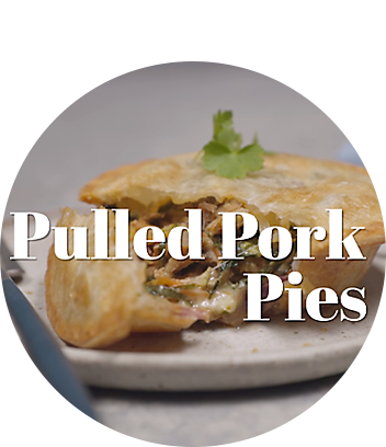 Delicious pulled pork pie maker recipe