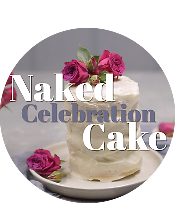Naked Celebration cake recipe