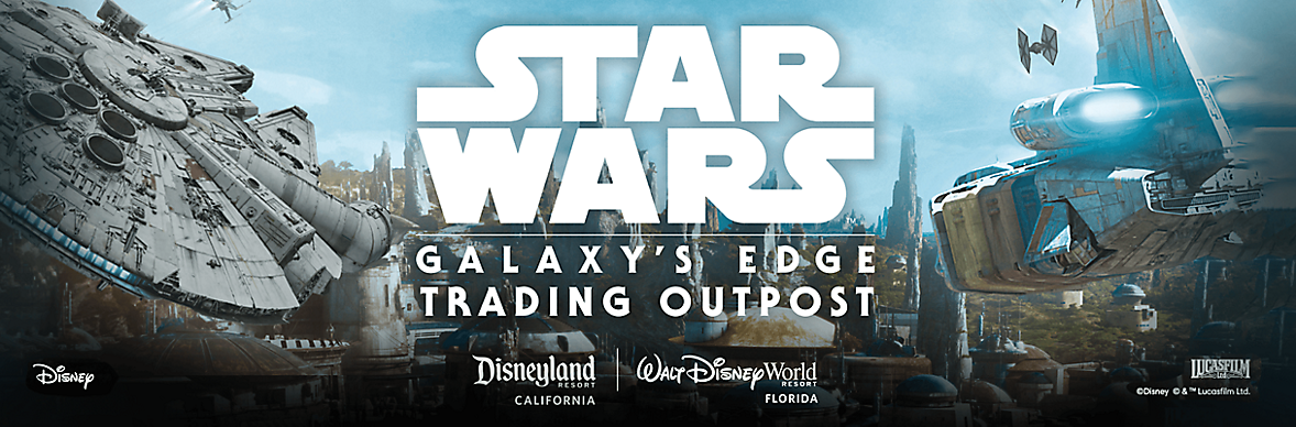 Star Wars Galaxy's Edge Trading Outpost