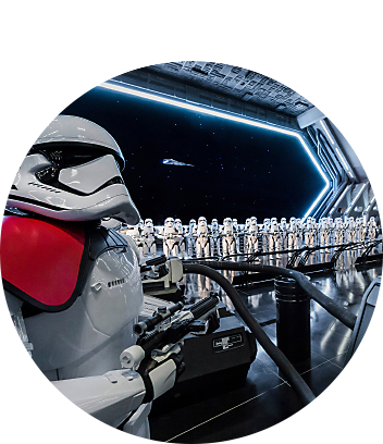 Star Wars Rise of the Resistance Virtual Ride
