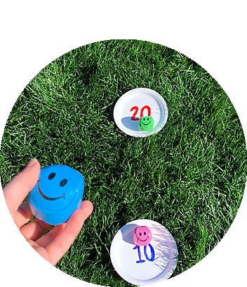 Backyard Fun Ball and Plate Toss