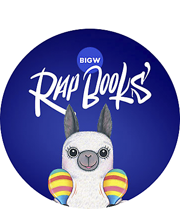 Big Days at Home Rapbooks Alpaca with Maracas