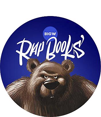 Big Days at Home Rapbooks Very Cranky Bear