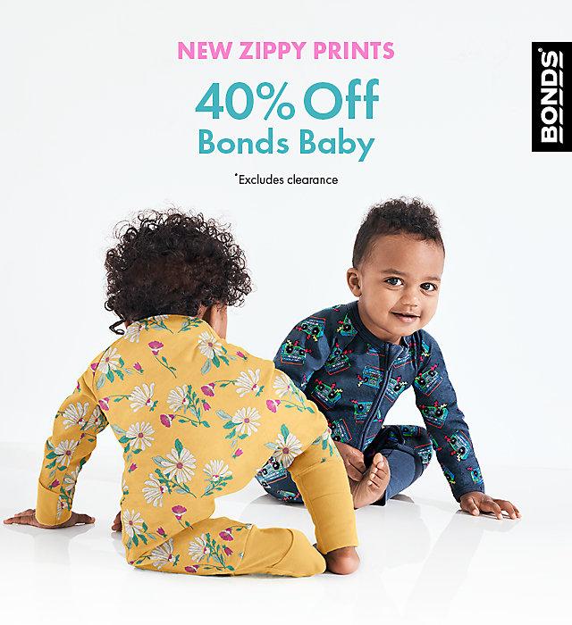 40% off bonds baby