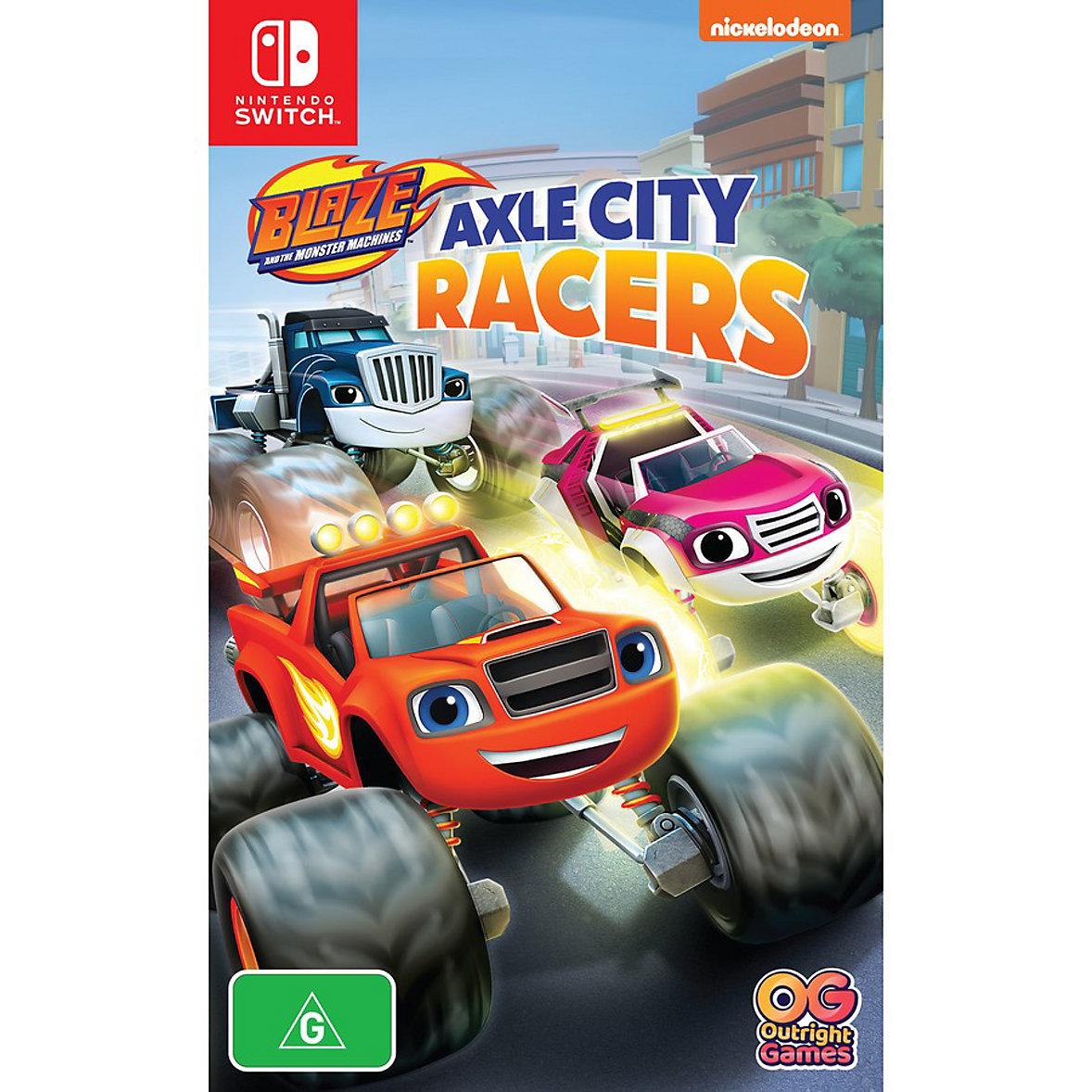 Blaze Axle City Racers