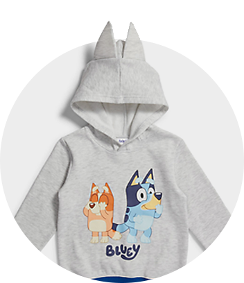 Shop Bluey Kids Clothing and Accessories