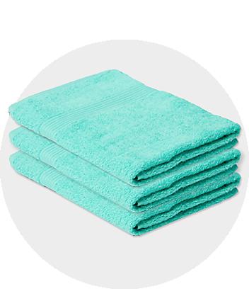 Green Bath Towels