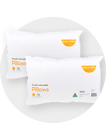 Brilliant Basics Pillows 2 pack