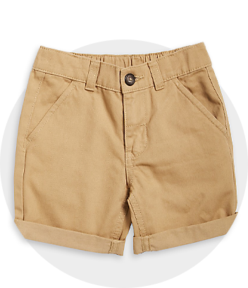 Boys Beige Shorts