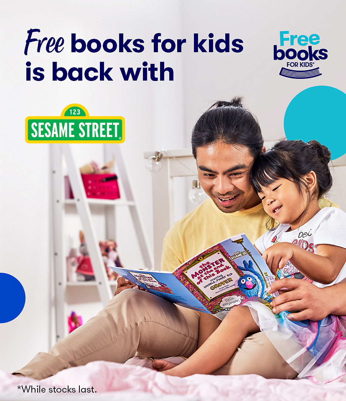 Free books for kids is back