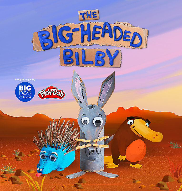 The Big-Headed Bilby Craft Camera Action