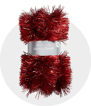 Shop Christmas Tinsel & Garlands