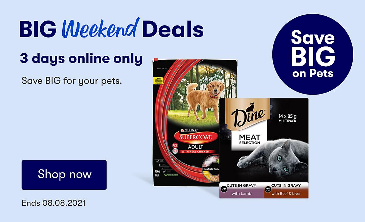 Online Only Big Weekend Deals Pet Deals