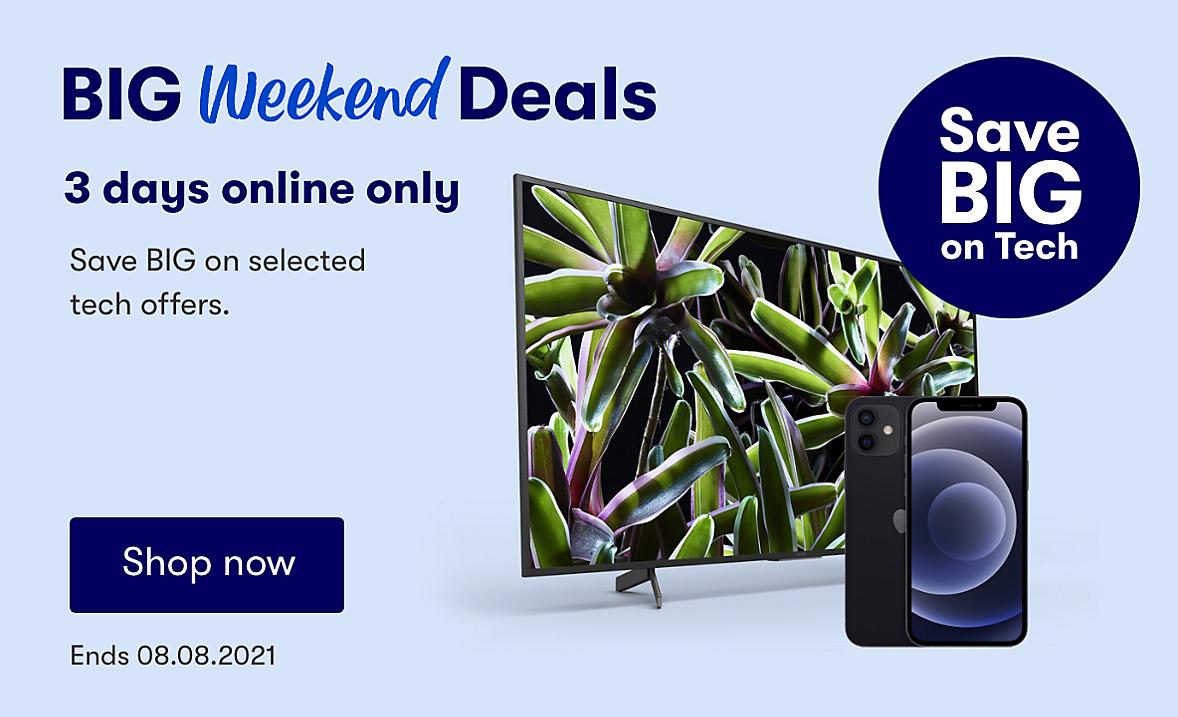 Online Only Big Weekend Deals Tech Deals