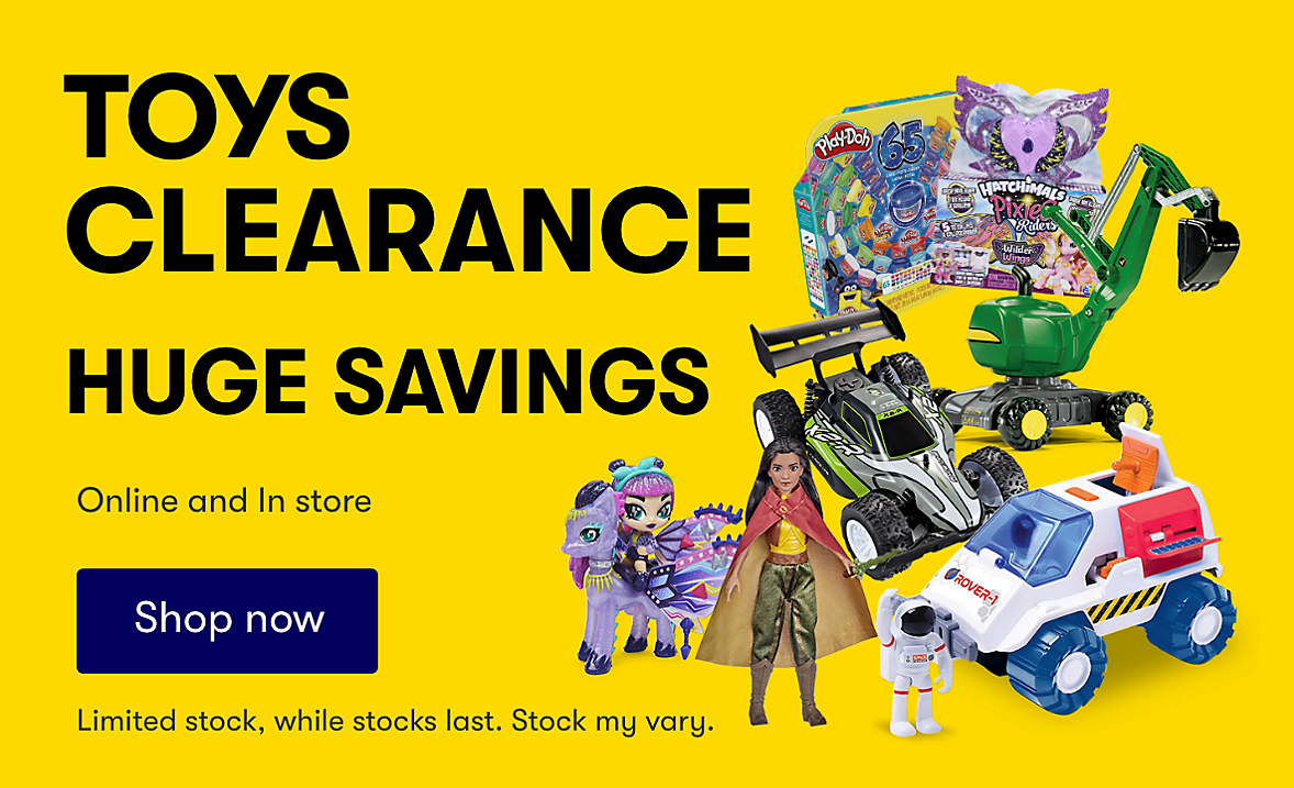 Toy Clearance. While Stocks Last