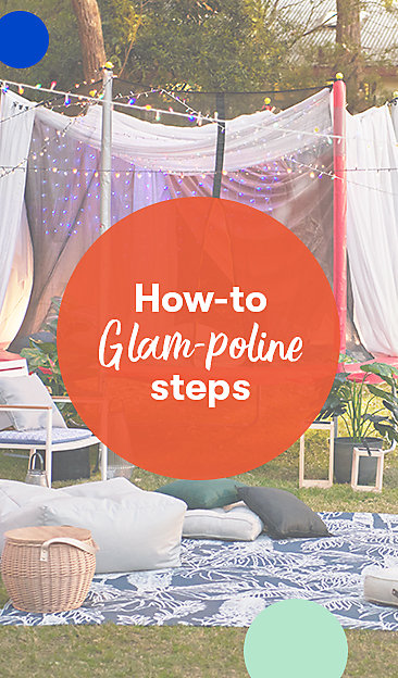 How to Glampoline