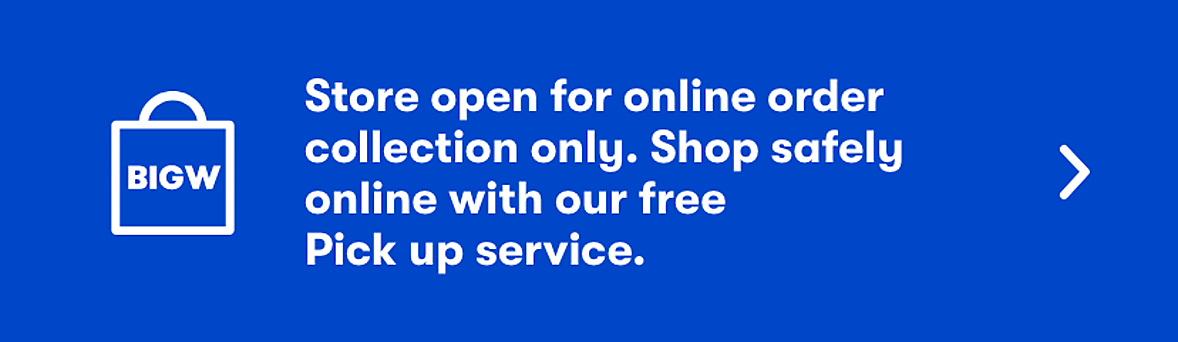 Store open for online order collection only