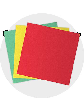 coloured cardboard colourboard