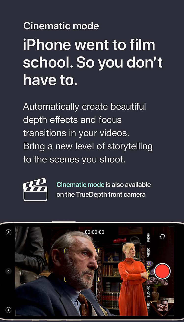 iPhone went to film school. So you don't have to.