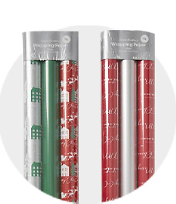 Shop Classic Christmas Wrapping Paper