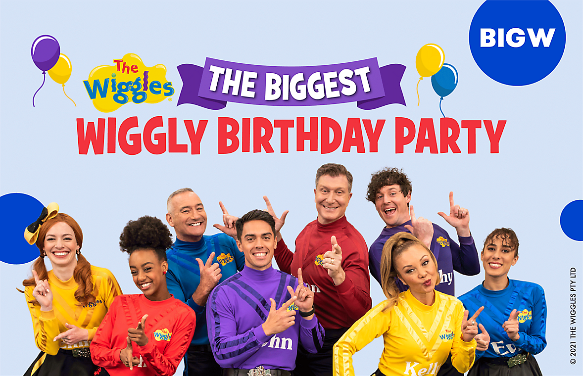 The Wiggles The Biggest Wiggly Birthday Party