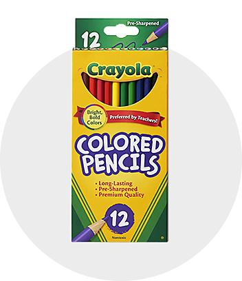 Shop Crayola Coloured Pencils