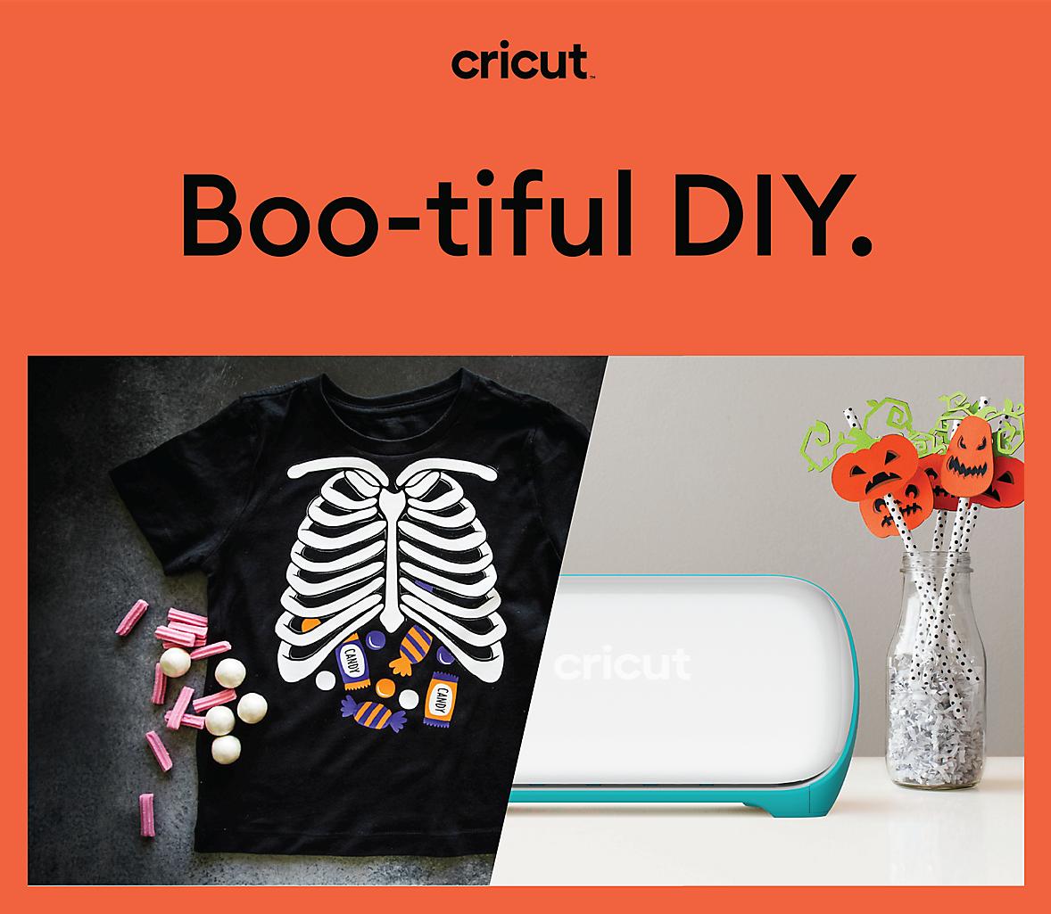 Boo-tiful DIY for Halloween with Cricut