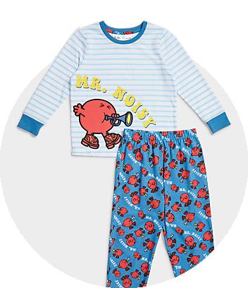 mr men little miss family pyjamas fam jam