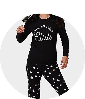 womens fam jam pyjama no sleep club