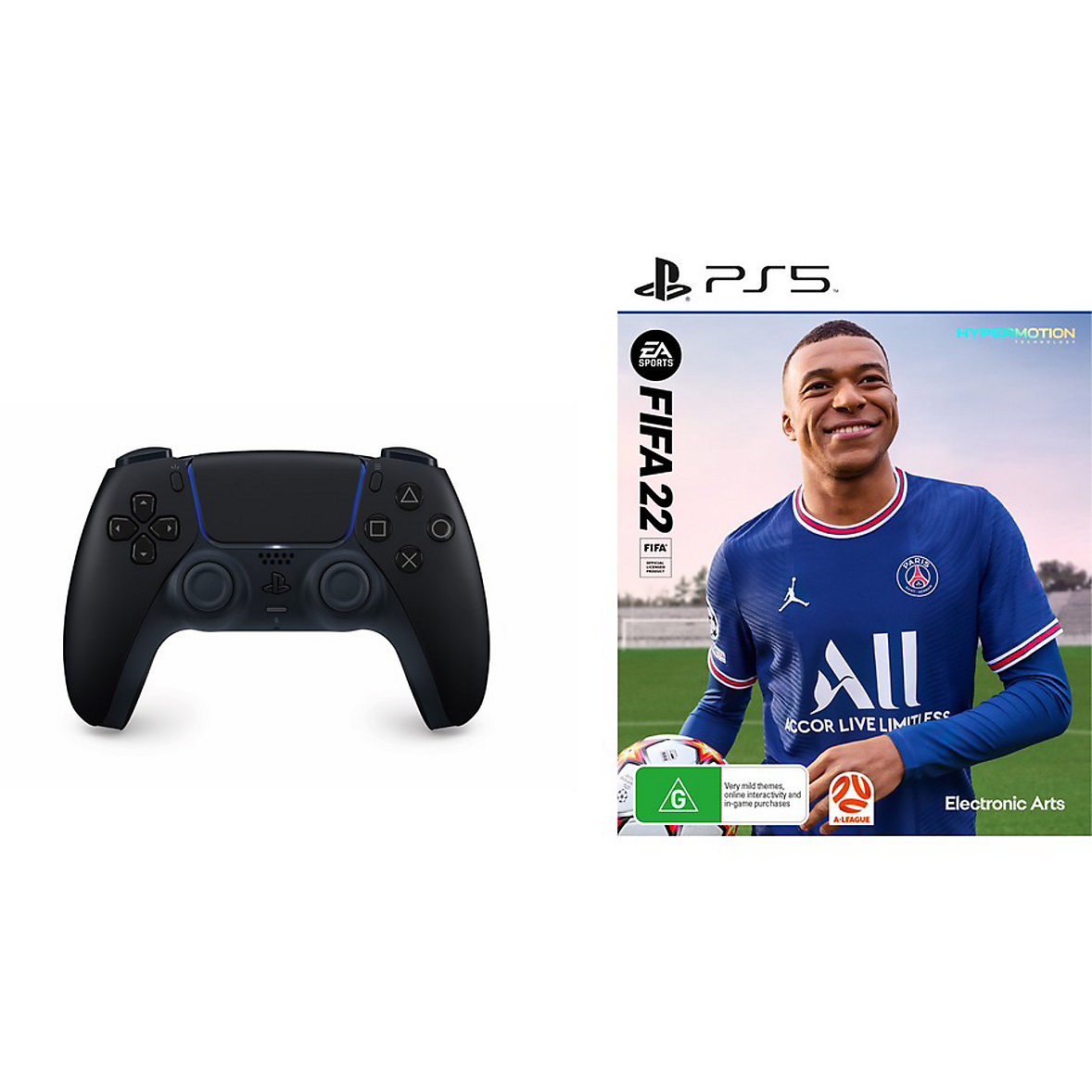 FIFA 22 + PS5 Dualsense Controller Bundle