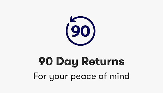 90 Day Returns