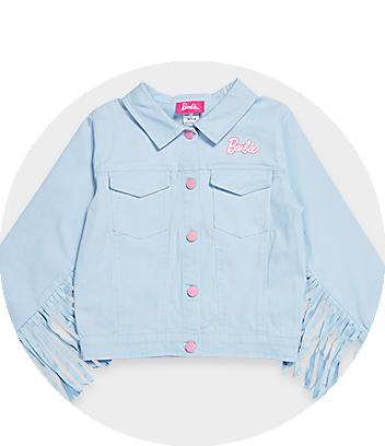 blue barbie jacket