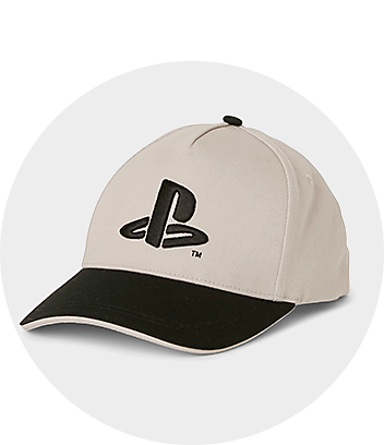 Cream Playstation Cap